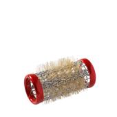 Kruller metaal kort 18mm 12 stk rood