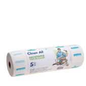 Nekpapier clean all 100 strips 100% waterproof 5 rollen