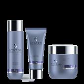 System Professional Smoothen Bundel: Shampoo, Conditioner + Masker